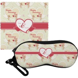 Mouse Love Eyeglass Case & Cloth (Personalized)