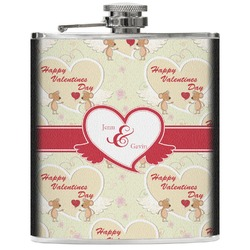 Mouse Love Genuine Leather Flask (Personalized)