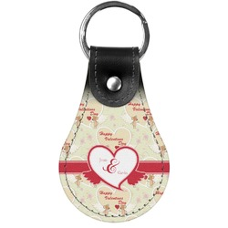 Mouse Love Genuine Leather  Keychains (Personalized)
