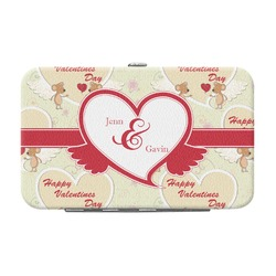 Mouse Love Genuine Leather Small Framed Wallet (Personalized)