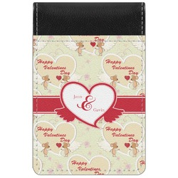 Mouse Love Genuine Leather Small Memo Pad (Personalized)