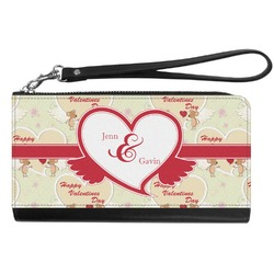 Mouse Love Genuine Leather Smartphone Wrist Wallet (Personalized)