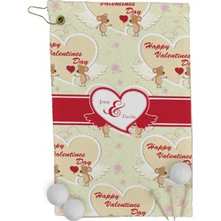Mouse Love Golf Towel - Full Print (Personalized)