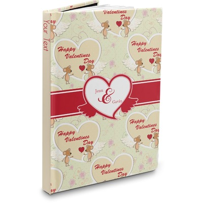 Mouse Love Hardbound Journal (Personalized)