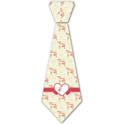 Mouse Love Iron On Tie (Personalized)
