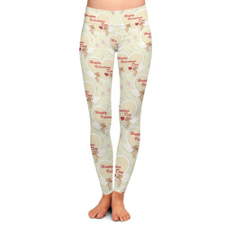 Mouse Love Ladies Leggings - Extra Large (Personalized)