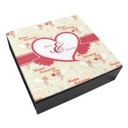 Mouse Love Leatherette Keepsake Box - 8x8 (Personalized)