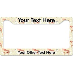 Mouse Love License Plate Frame (Personalized)