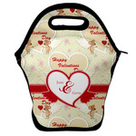 Mouse Love Lunch Bag w/ Couple's Names