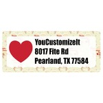 Mouse Love Return Address Labels (Personalized)