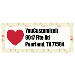 Mouse Love Return Address Label (Personalized)