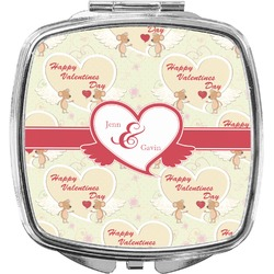Mouse Love Compact Makeup Mirror (Personalized)