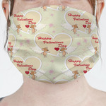 Mouse Love Face Mask Cover (Personalized)