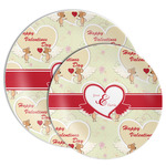Mouse Love Melamine Plate (Personalized)