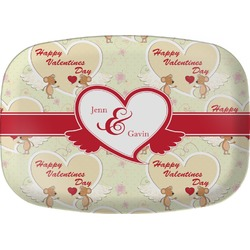 Mouse Love Melamine Platter (Personalized)