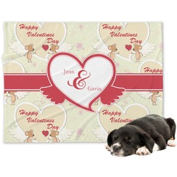 Mouse Love Minky Dog Blanket (Personalized)