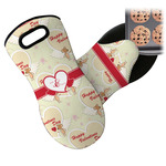 Mouse Love Neoprene Oven Mitt (Personalized)