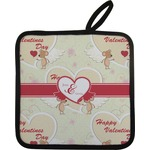 Mouse Love Pot Holder w/ Couple's Names