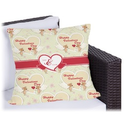 Mouse Love Outdoor Pillow (Personalized)