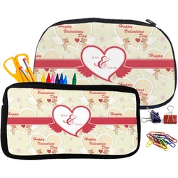 Mouse Love Pencil / School Supplies Bag (Personalized)
