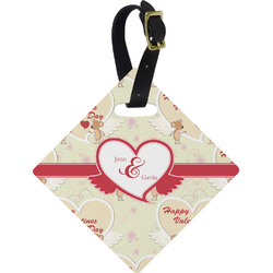 Mouse Love Diamond Luggage Tag (Personalized)