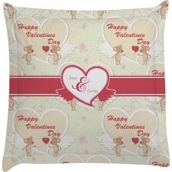 Mouse Love Euro Sham Pillow Case (Personalized)