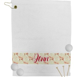 Mouse Love Golf Towel (Personalized)