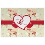 Mouse Love Laminated Placemat w/ Couple's Names