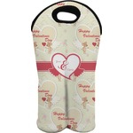 Mouse Love Wine Tote Bag (2 Bottles) (Personalized)
