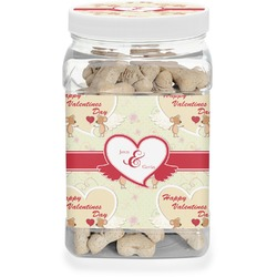 Mouse Love Pet Treat Jar (Personalized)