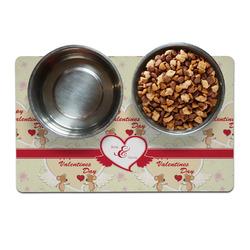 Mouse Love Pet Bowl Mat (Personalized)
