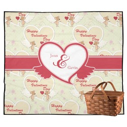 Mouse Love Outdoor Picnic Blanket (Personalized)
