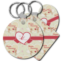 Mouse Love Plastic Keychains (Personalized)