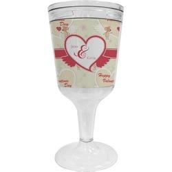 Mouse Love Wine Tumbler - 11 oz Plastic (Personalized)