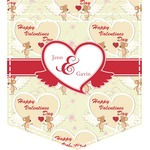 Mouse Love Iron On Faux Pocket (Personalized)
