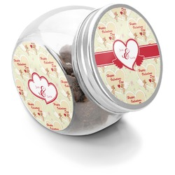Mouse Love Puppy Treat Jar (Personalized)