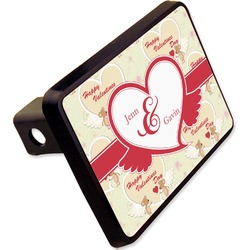 """Mouse Love Rectangular Trailer Hitch Cover - 2"""" (Personalized)"""