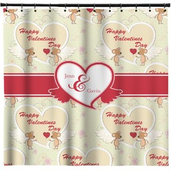 Mouse Love Shower Curtain (Personalized)