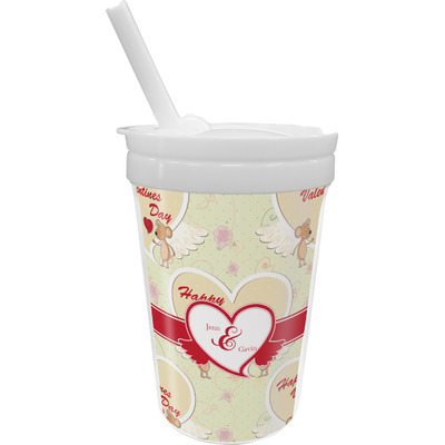 Mouse Love Sippy Cup with Straw (Personalized)