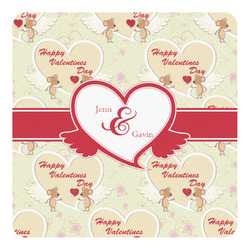 Mouse Love Square Decal - Medium (Personalized)