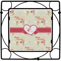 Mouse Love Square Trivet (Personalized)