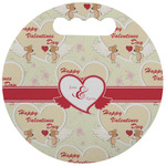 Mouse Love Stadium Cushion (Round) (Personalized)