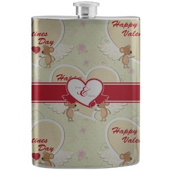 Mouse Love Stainless Steel Flask (Personalized)