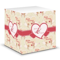 Mouse Love Sticky Note Cube (Personalized)