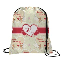 Mouse Love Drawstring Backpack (Personalized)
