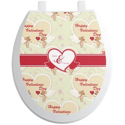 Mouse Love Toilet Seat Decal (Personalized)