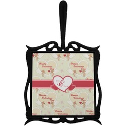 Mouse Love Trivet with Handle (Personalized)