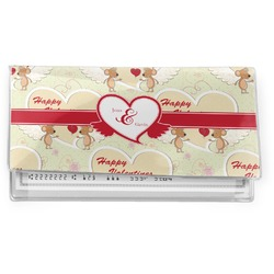 Mouse Love Vinyl Checkbook Cover (Personalized)