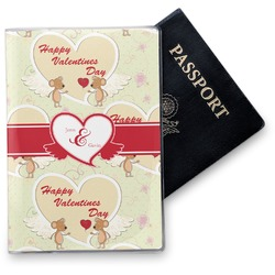 Mouse Love Vinyl Passport Holder (Personalized)
