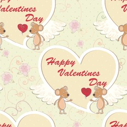 Mouse Love Wallpaper & Surface Covering